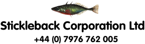 Stickleback logo set#63E550